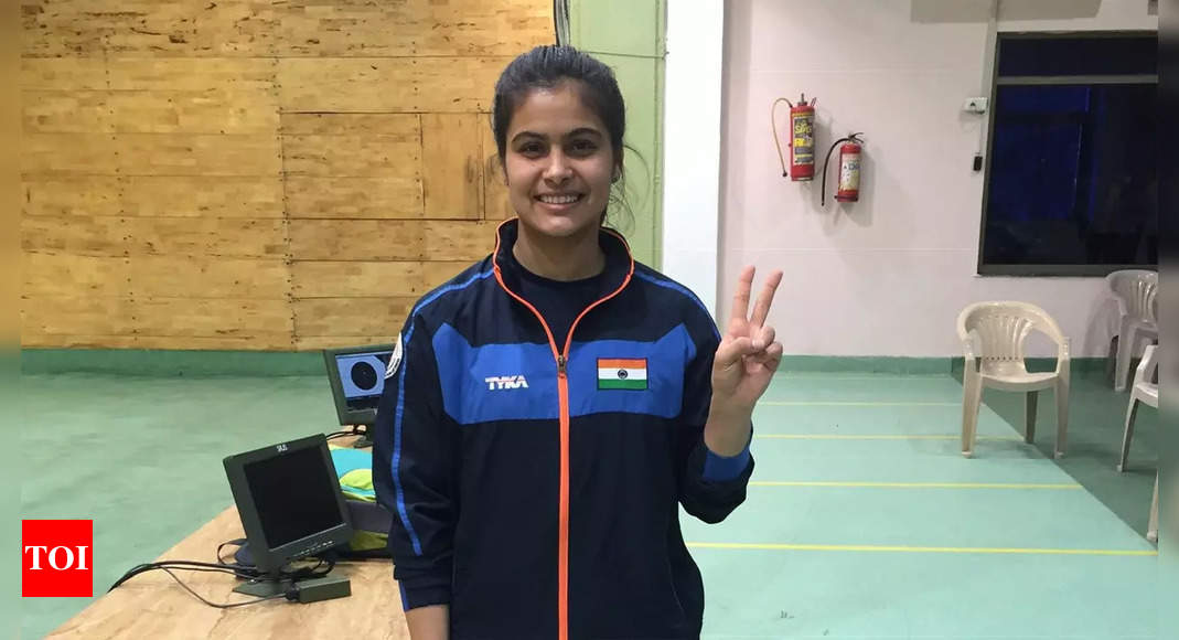 ISSF Junior World Championships: Manu Bhaker wins second gold; women's skeet team stuns Italy | More sports News – Times of India