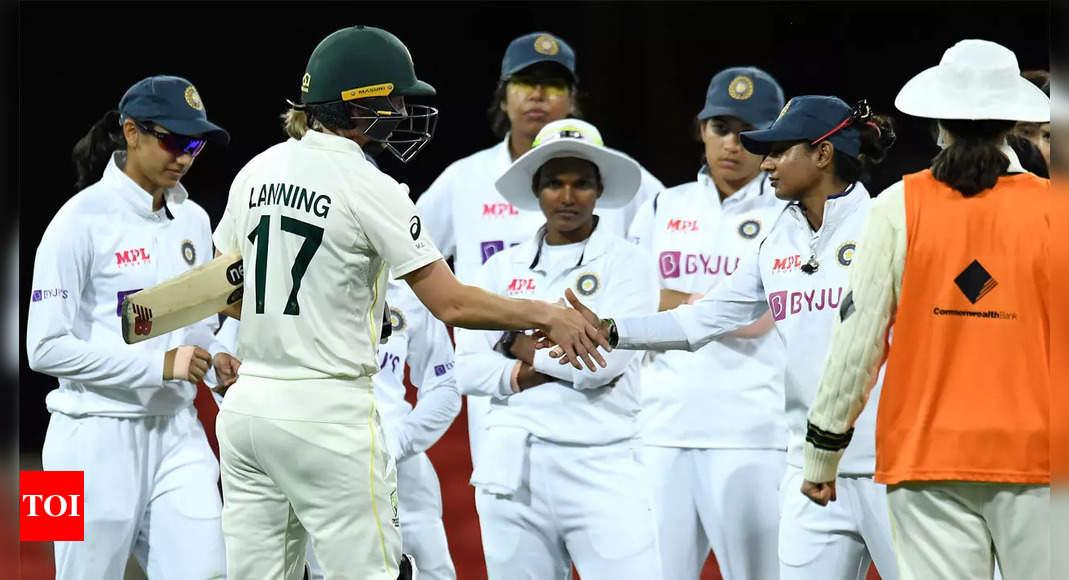 Indian women dominate Australia in drawn day-night Test
