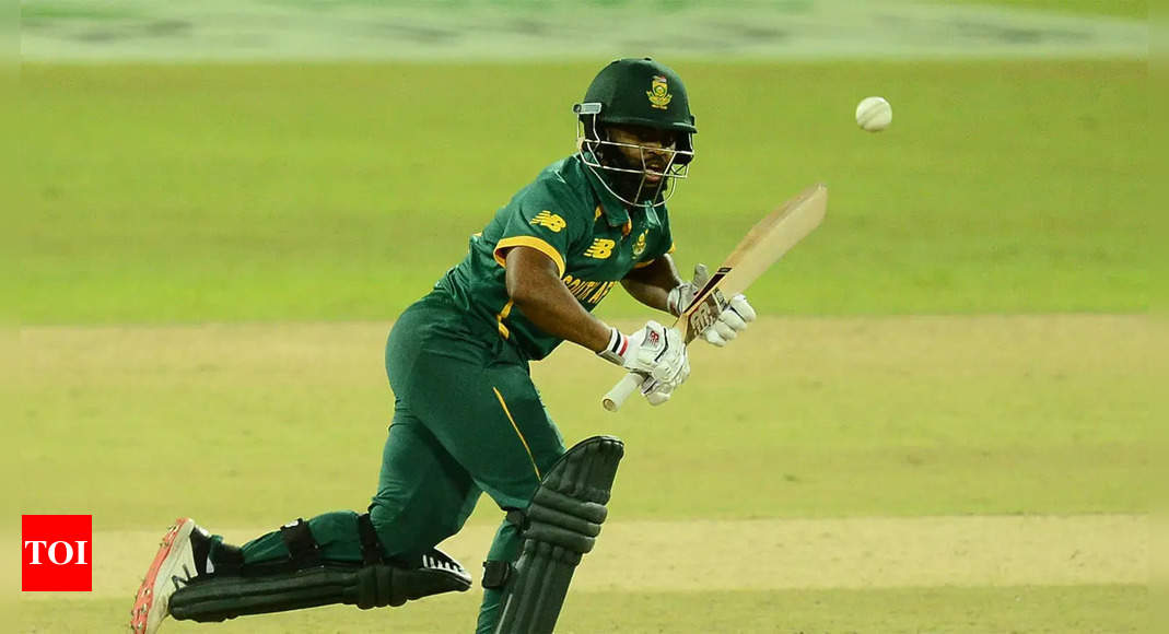 bavuma:  Temba Bavuma confident of winning fitness battle for T20 World Cup   Cricket News – Times of India