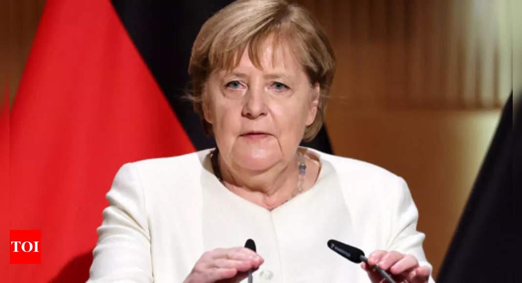 Angela Merkel urges Germans: Keep working for democracy