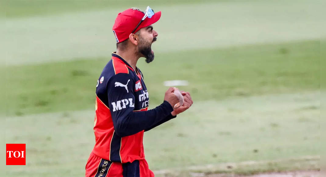 Feels amazing to qualify for play-offs with 2 games to spare: Virat Kohli   Cricket News – Times of India