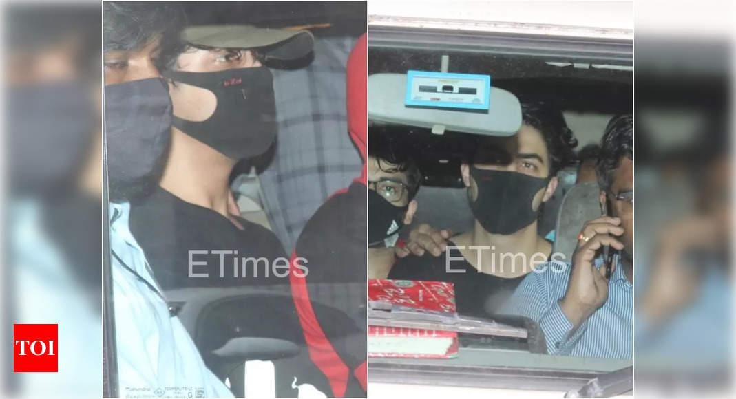 Aryan Khan acknowledges his arrest memo