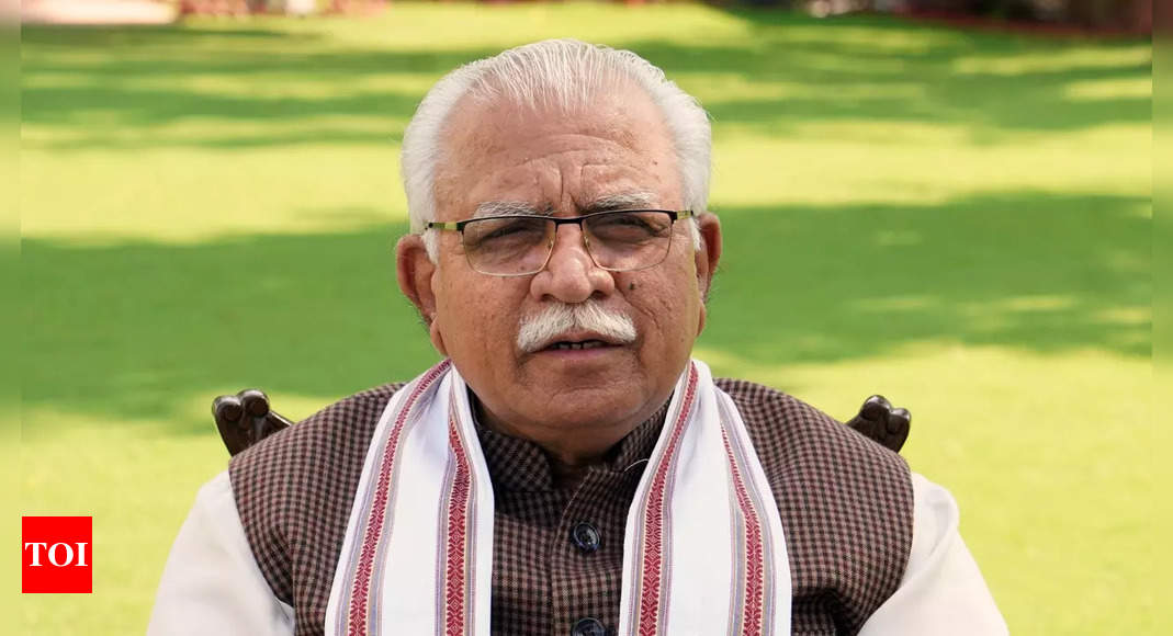 Khattar talks about 'tit for tat' during BJP's Kisan Morcha meet; Opposition slams remarks