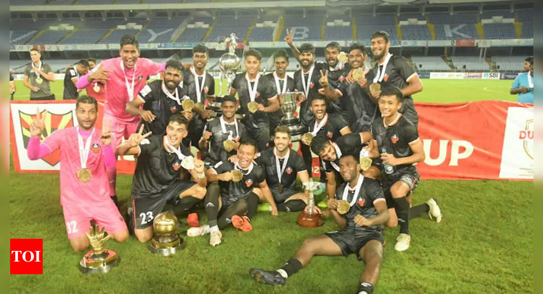 FC Goa clinch maiden Durand Cup trophy after beating Mohammedan Sporting 1-0 in final   Football News – Times of India