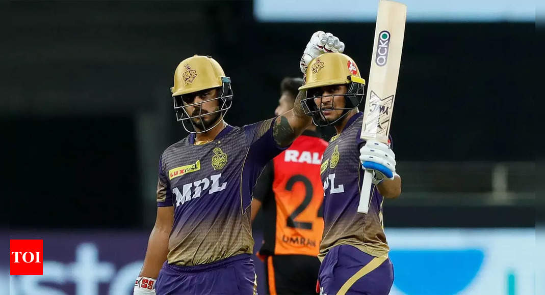 Kolkata Knight Riders vs Sunrisers Hyderabad Highlights: Shubman Gill, bowlers guide KKR to 6-wicket win over SRH, keep 4th spot intact   Cricket News – Times of India