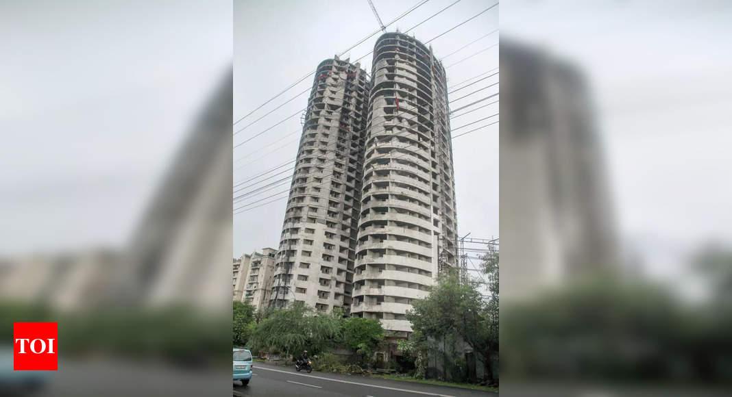 SC dismisses Supertech's plea seeking modification of order to raze twin 40-storey towers