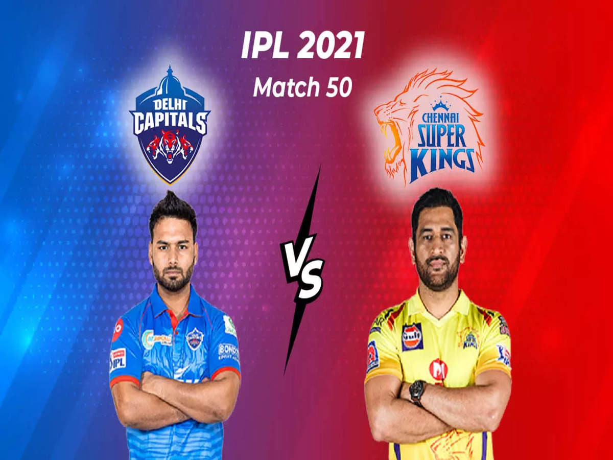 IPL 2021, DC vs CSK Highlights: Delhi beat Chennai by 3 wickets in  last-over thriller - The Times of India : 19.5 : Delhi Capitals : 139/7