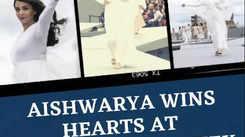 Aishwarya wins hearts at Paris Fashion Week