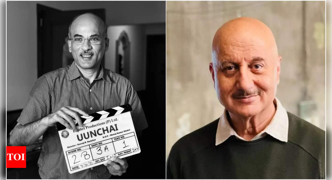 Anupam begins shooting for his 520th film