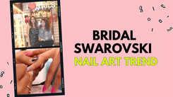 Bridal Swarovski Nail Art Trend