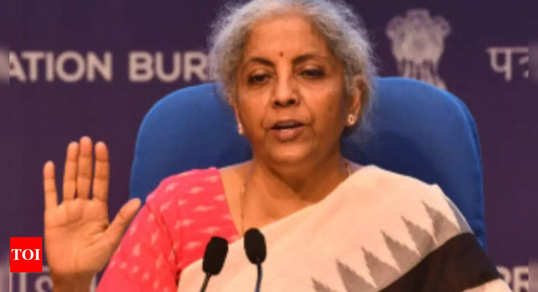 sitharaman:  Well-managed cos are able to attract equity investors: Finance minister Nirmala Sitharaman – Times of India
