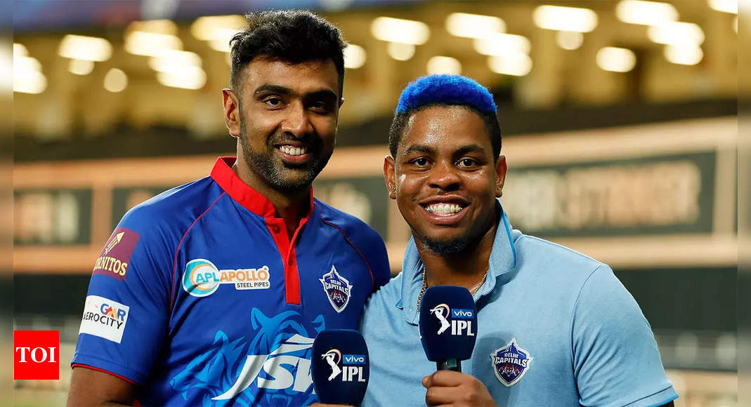 IPL 2021: Hetmyer's efforts being recognised in dressing room, says Ashwin   Cricket News – Times of India