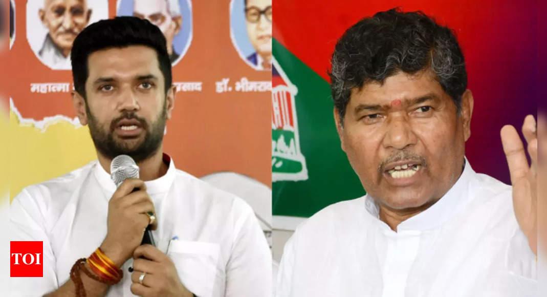 EC allots poll symbols, party names to Chirag, Paras factions amid LJP feud