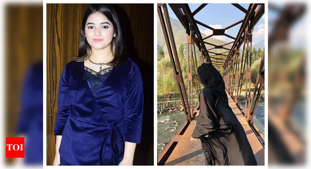 Zaira Wasim's rare appearance on Insta