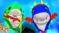 Nursery Rhymes in English: Children Video Song in English 'Halloween Baby Shark'