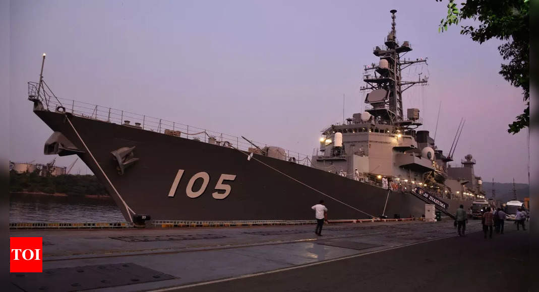 India-Japan maritime exercise 'JIMEX' to be conducted from October 6