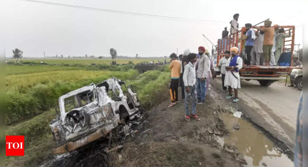 Lakhimpur: Ashish Mishra mowed down farmers, opened fire at them, says FIR