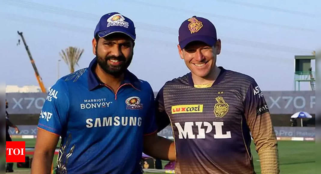 IPL 2021: Race for fourth playoff spot now realistically between KKR and MI – All possibilities in 5 points | Cricket News – Times of India
