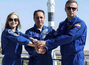 'The Challenge': Russian actress Yulia Peresild and director Klim Shipenko beat Tom Cruise to attempt first movie in space