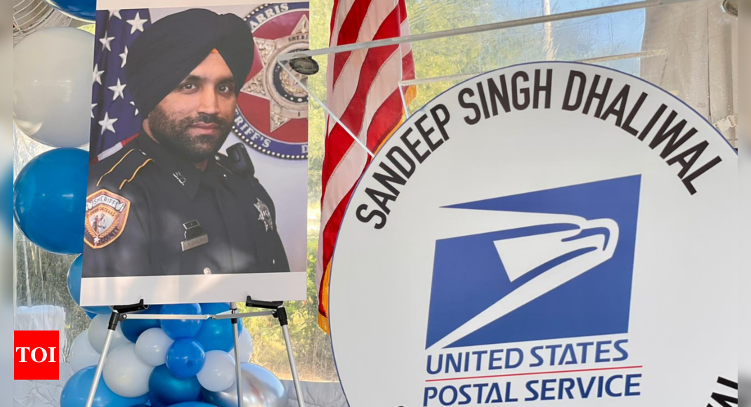 Houston post office named after Indian-American Sikh cop killed on duty