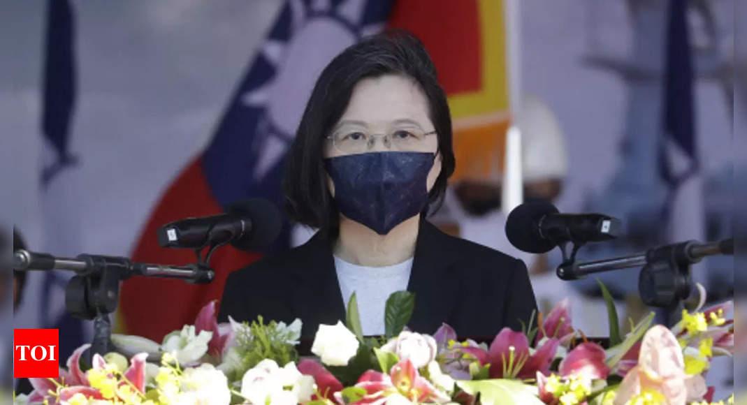 Taiwan will ensure regional peace, president tells French senators thumbnail