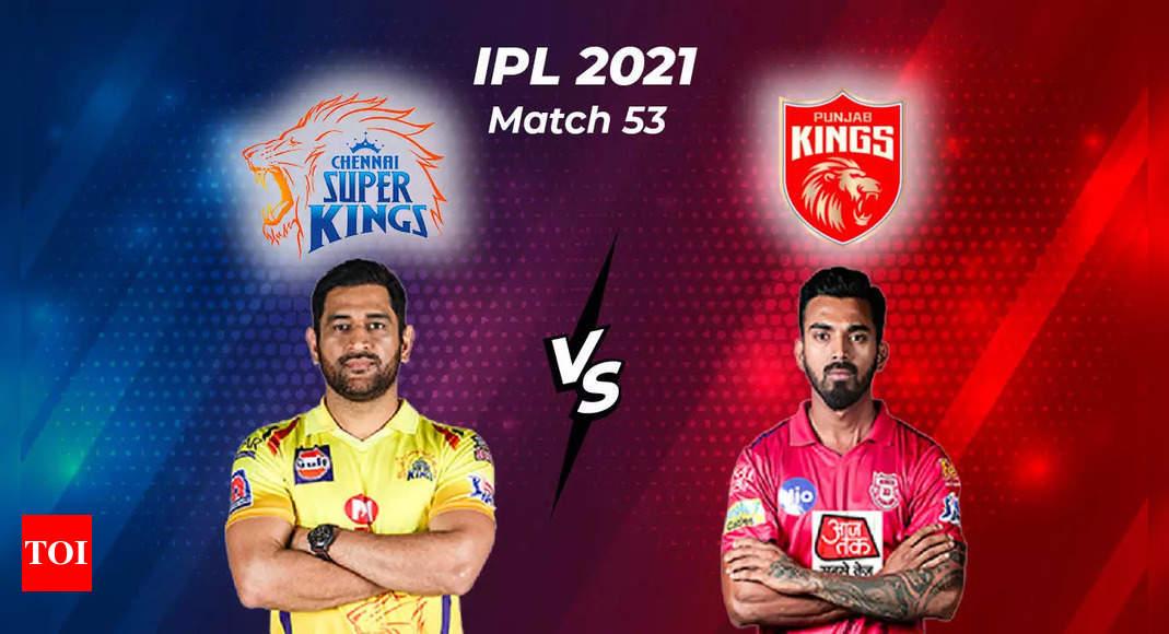 , IPL 2021 Live: Chennai Super Kings vs Punjab Kings, The World Live Breaking News Coverage & Updates IN ENGLISH