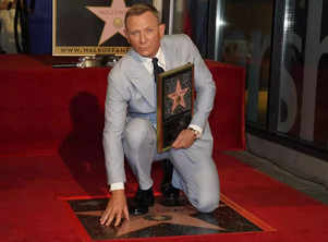 'James Bond' star Daniel Craig honoured with star on Hollywood Walk of Fame