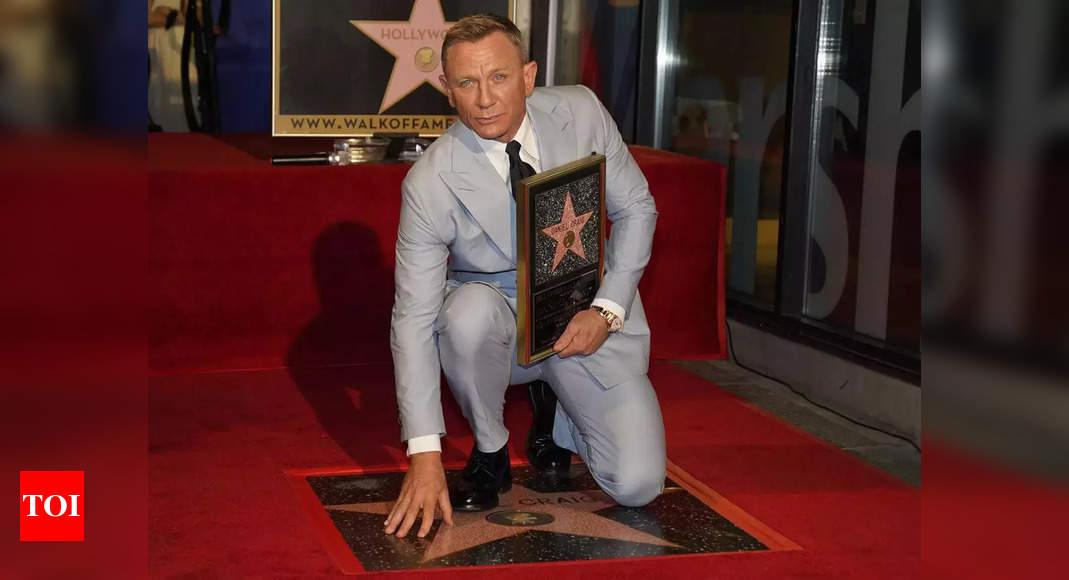 Craig honoured on Hollywood Walk of Fame