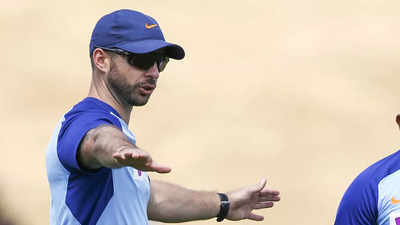 Team India trainer Nick Webb to quit after T20 World Cup | Cricket News -  Times of India