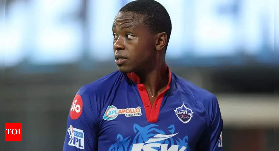 IPL 2021: We cannot take our foot off the pedal, says DC pacer Rabada ahead of RCB clash | Cricket News – Times of India