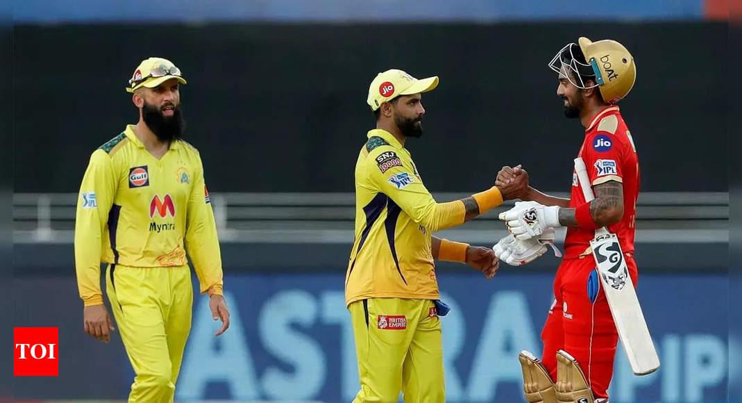 CSK vs PBKS Match Highlights: Chennai Super Kings vs Punjab Kings Highlights: Rahul's blistering knock in PBKS' consolation win against CSK | Cricket News – Times of India