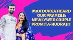 Newlywed Promita Chakrabartty-Rudrajit Mukherjee share their Durga Puja Memories