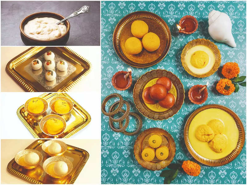 #TimesFoodie  Feast on traditional and contemporary Bengali sweets this festive season