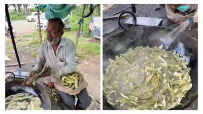 Watch: Video of blind man of Nashik selling banana chips goes viral