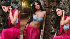 Malavika Mohanan sets the internet temperature high with her traditional 'Urvashi' avatar