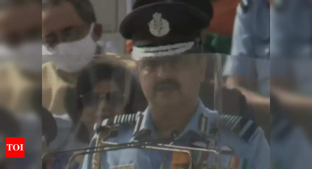 IAF's prompt actions in eastern Ladakh testament to its combat readiness: IAF chief V R Chaudhary