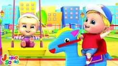 Nursery Rhymes in English: Children Video Song in English 'Playground - Park'
