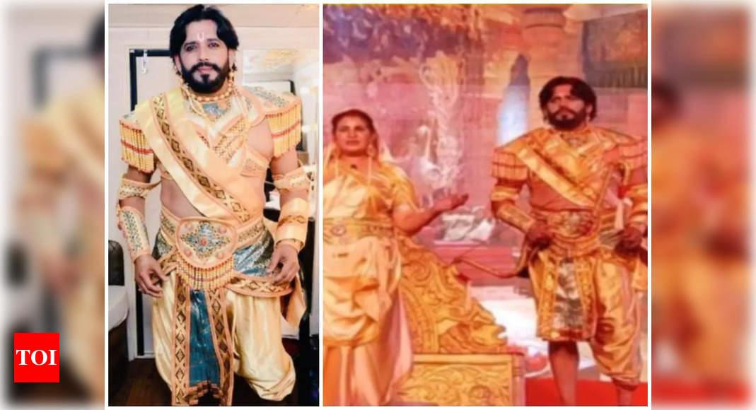 See Ravi Kishan's transformation as Parshuram