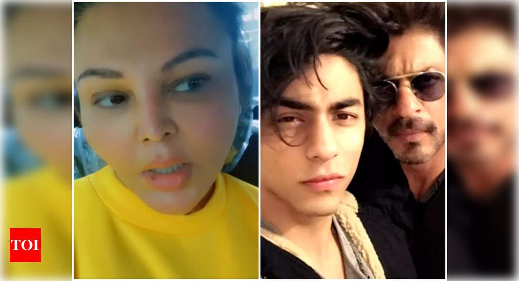 Rakhi Sawant supports SRK's son Aryan Khan