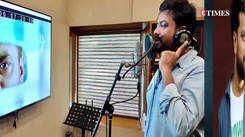 Chetan Dhanani starts dubbing for his next, 'Bagad Billa'