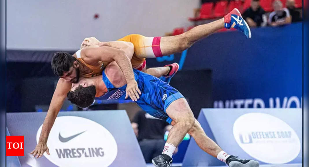 Indian greco-roman wrestlers bite dust in World Championship | More sports News – Times of India