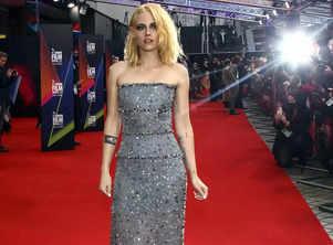 Kristen Stewart brings Princess Diana film 'Spencer' to London