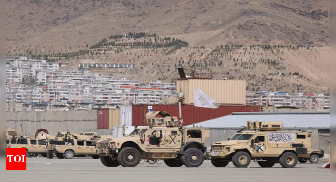 US delegation to meet Taliban in first high-level talks since pullout: Officials thumbnail