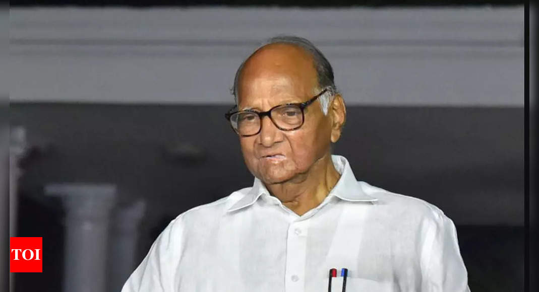 'Government guests' not a worry: Sharad Pawar on I-T searches