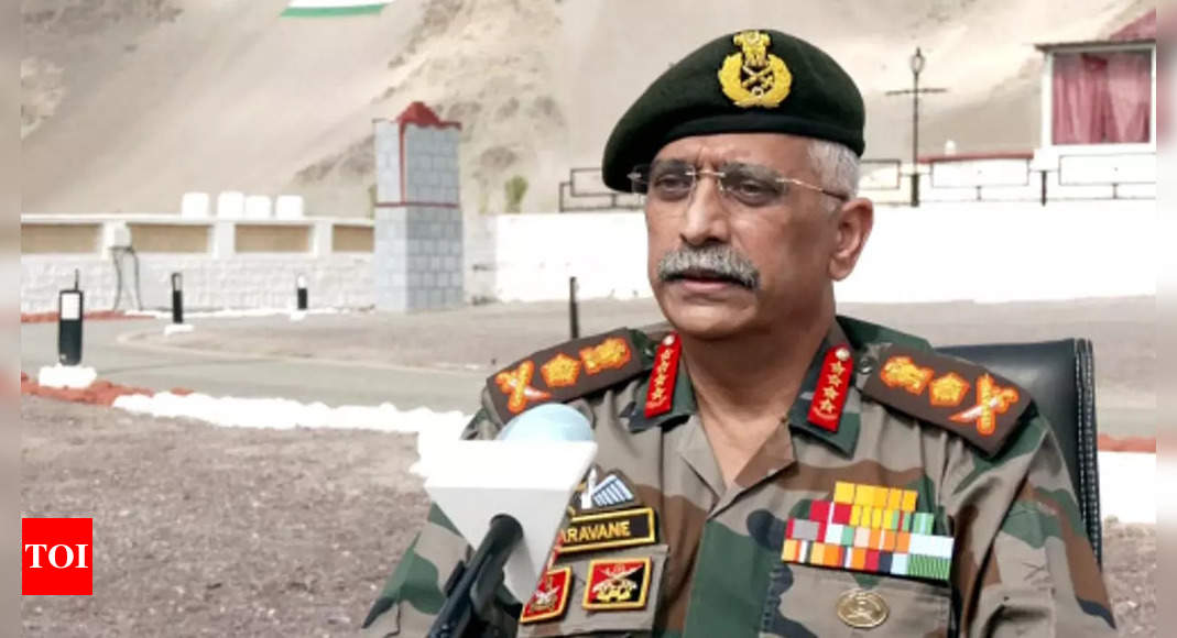 China's continuous build-up matter of concern: Army Chief General Naravane