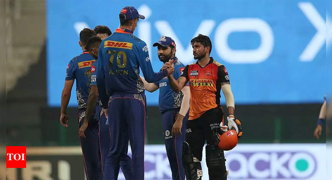 IPL 2021: Who said what after MI finished their campaign with a big win vs SRH | Cricket News – Times of India