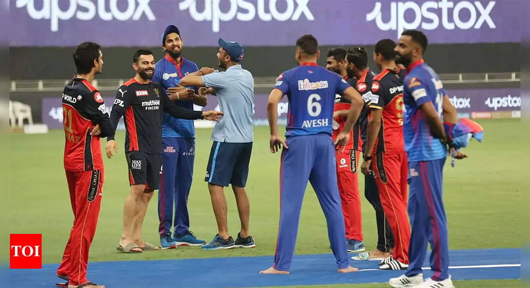 IPL 2021: Who said what after incredible last ball six helped RCB beat DC | Cricket News – Times of India