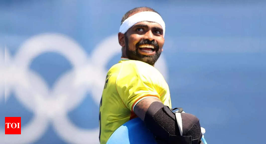 Nothing is certain but want to stay with this team till Paris Olympics: PR Sreejesh | Hockey News – Times of India