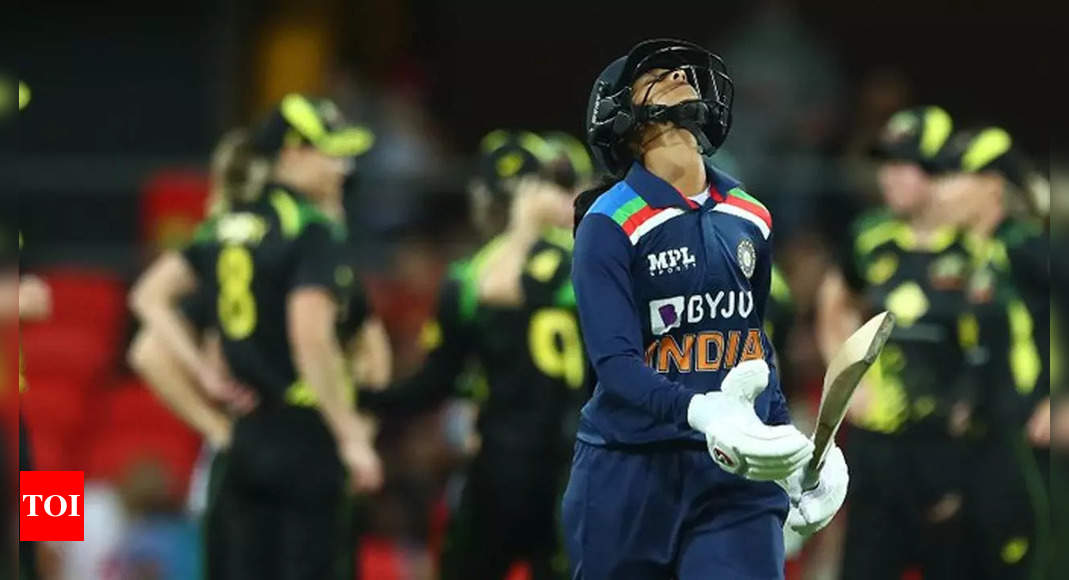 Indian batters flop as Australia win by 4 wickets to seal multi-format series | Cricket News – Times of India