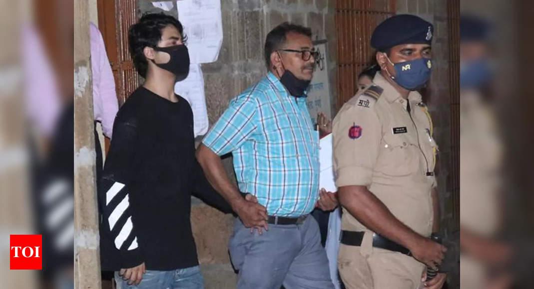 Aryan Khan drug case: Shah Rukh Khan's son files bail application in Mumbai Sessions Court – Times of India